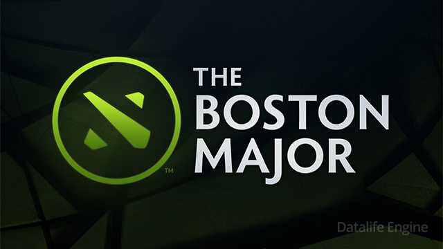 Boston Major 2016 Dota 2, main logo