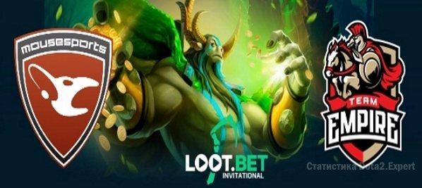 Прогноз Empire vs Mousesports на LootBet Invitational