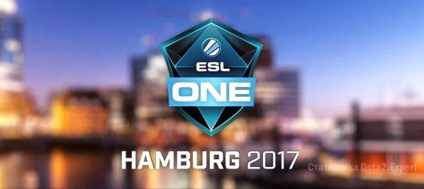 Таблица, расписание и сетка ESL One Hamburg 2017 Dota2