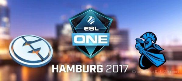 Прогноз Newbee vs Evil Geniuses 29 октября ЕСЛ Гамбург 2017