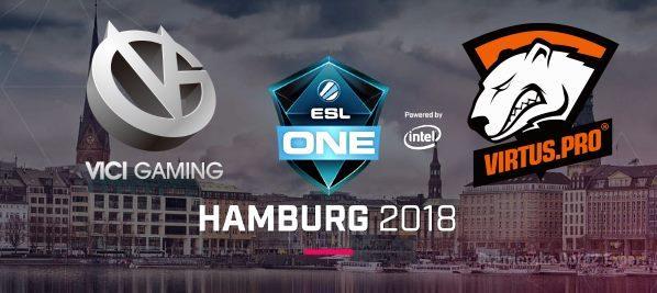 Прогноз Vici Gaming vs Virtus Pro на ESL One Hamburg 27.10.2018