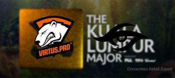 Прогноз Virtus Pro vs Team Secret на 17-11-2018 на Куала Лумпур Мажор