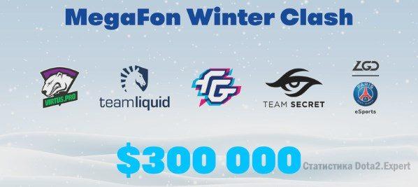 MegaFon Winter Clash — Сетка и расписание турнира