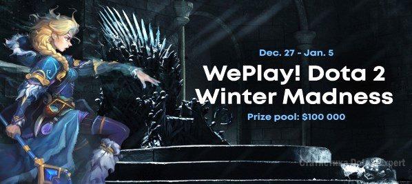WePlay Winter Madness — Формат и турнирная таблица