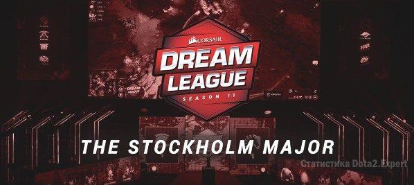 DreamLeague Stockholm Major — Сетка и расписание турнира